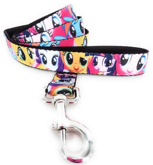 My Little Pony Faces Wrap 4 Foot Pet Leash