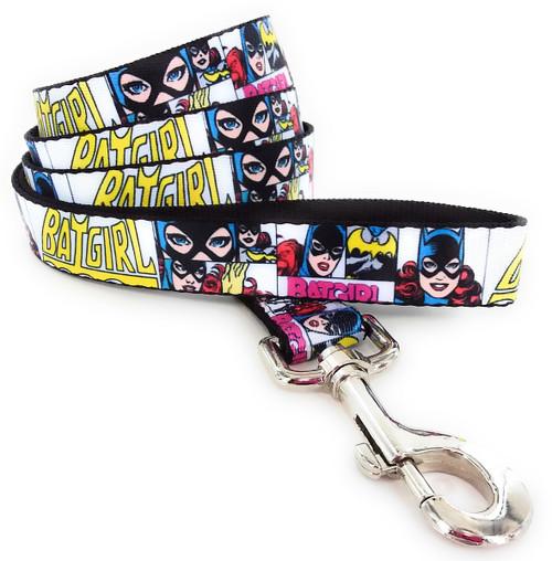 Batgirl Panels Wrap 4 Foot Pet Leash
