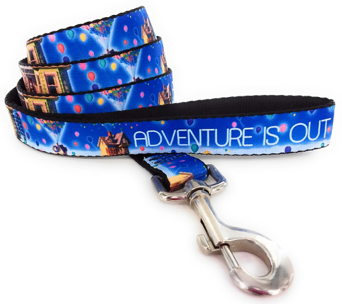 Up Adventure is Out There Wrap 4 Foot Pet Leash