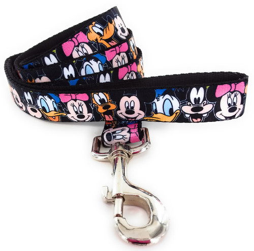 Mickey Mouse and Friends Faces Wrap Pet Leash