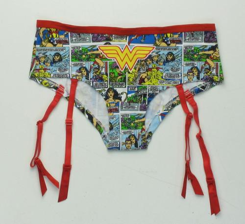 Wonder Woman Comic Garter Panty