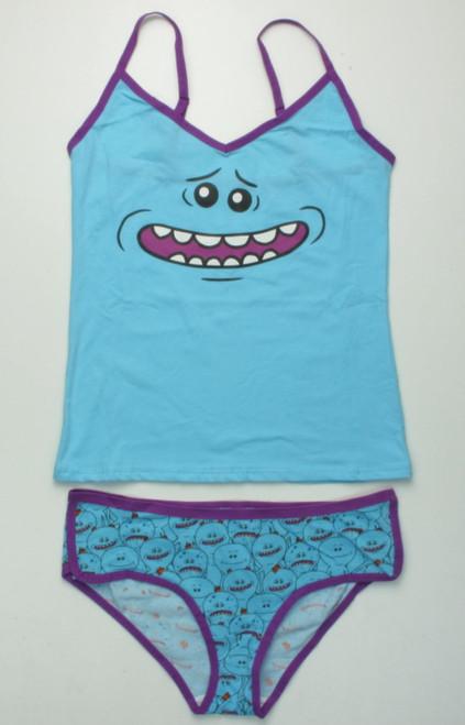 Rick And Morty Meseeks Tank Panty Set