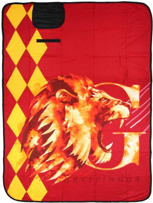 Harry Potter Gryffindor Picnic Blanket