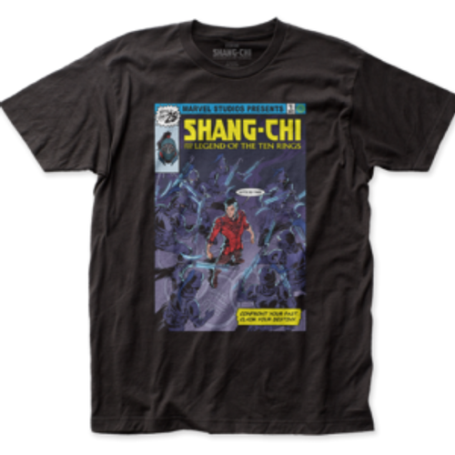 Marvel Shang Chi Homage Cover T-Shirt