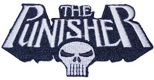 Punisher Name Skull Patch