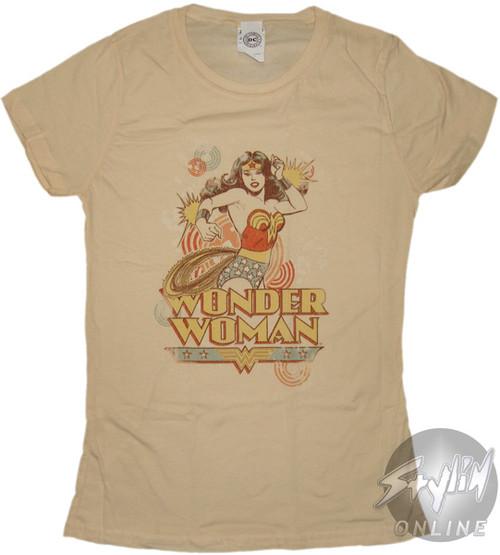 Wonder Woman Deflect Baby Tee