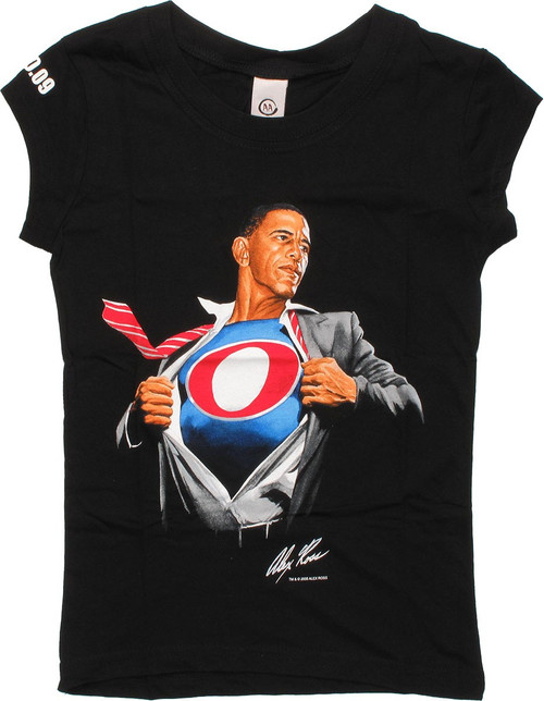 Barack Obama Super Obama Baby Tee