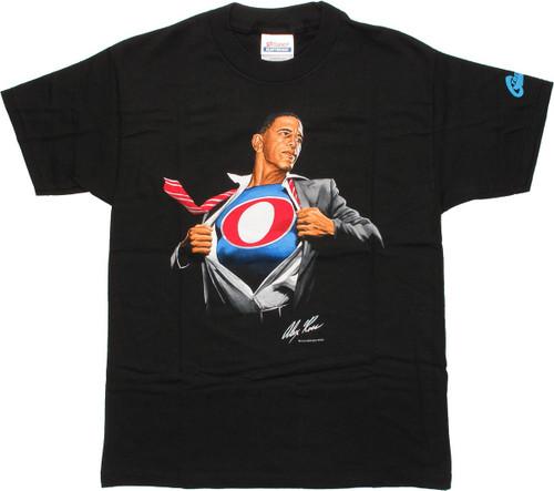 Barack Obama Super Obama Youth T-Shirt