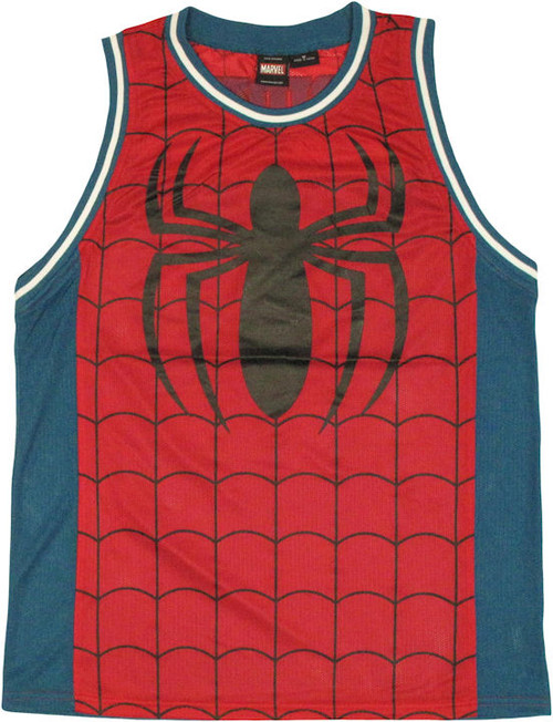 a9f4b3cf4aee Spiderman Basketball Jersey