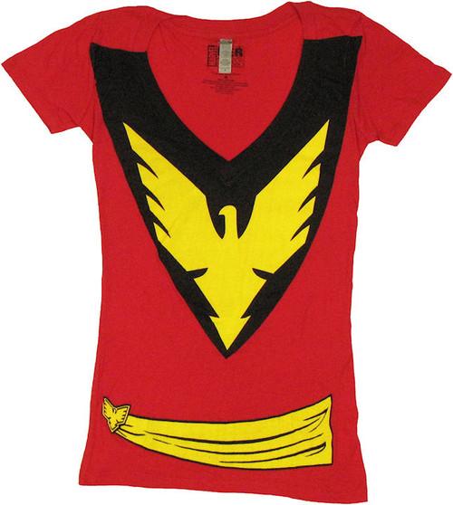 X Men Dark Phoenix Suit Baby Tee