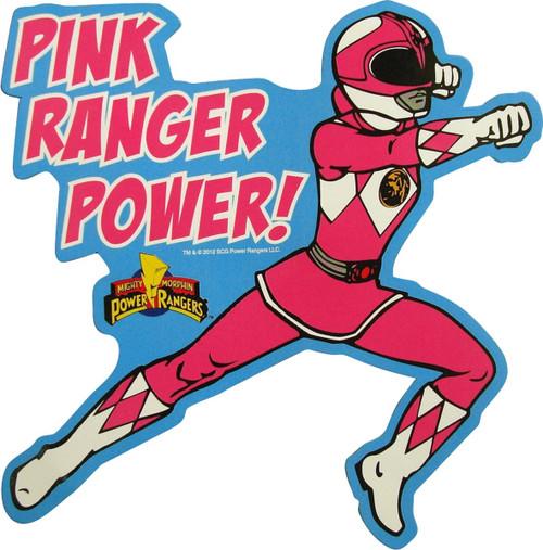 7189aaf0a Power Rangers Pink Ranger Power Magnet