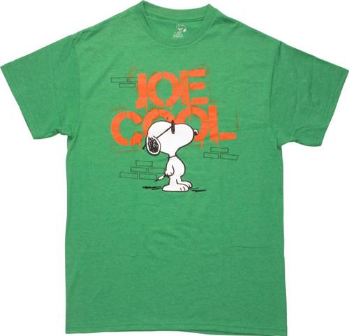 88b6b73f594 Peanuts Snoopy Joe Cool Stencil T-Shirt