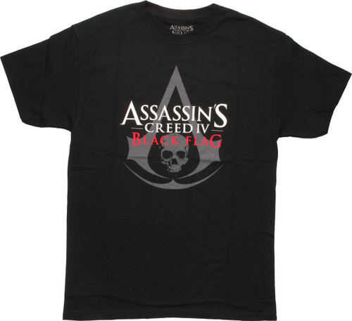 Assassins Creed Iv Black Flag Logo T Shirt