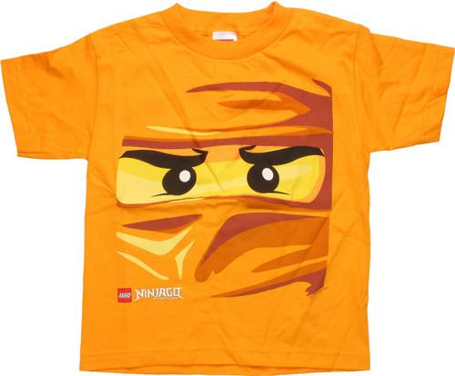 08fdbd152eaf Lego Ninjago Lloyd Face Gold Youth T-Shirt