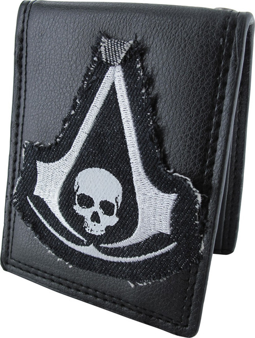 Assassins Creed 4 Black Flag Logo Bifold Wallet