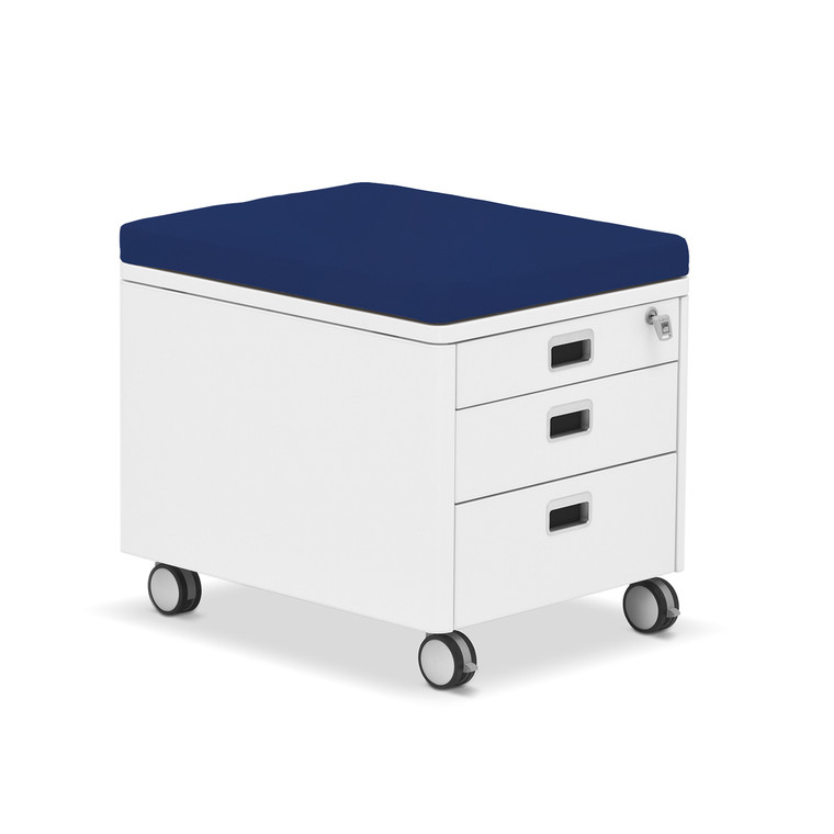 moll Cube Container Pad, Blue