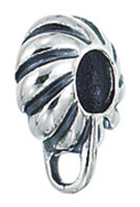 ZABLE Fluted Charm Carrier Bead Charm BZ-2190