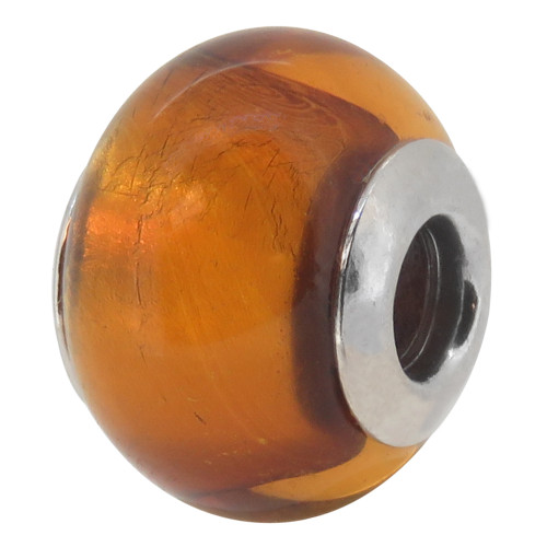 ZABLE Murano Glass Bead Charm November BZ-1511, fits pandora.