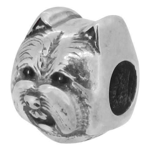 ZABLE Westie Dog Bead Charm BZ-2215, fits Pandora.