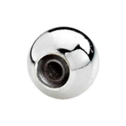 ZABLE 7mm (for Bangles) Smart Bead Silver Stopper BZB-209