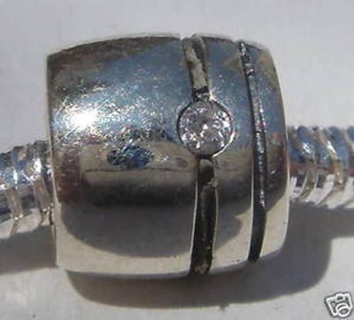 LOVELINKS 3 CZ Cylinder Bead Charm