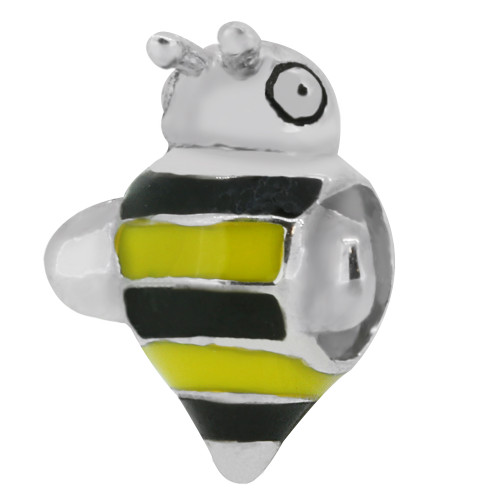 Zable bead charm Bumble Bee, fits Pandora, compatible with Pandora