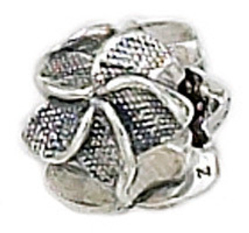 ZABLE Plumeria Bead Charm BZ-1495