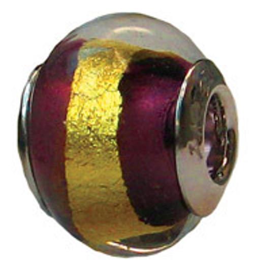 ZABLE Murano Glass Bead Charm BZ-1573 (Retired)