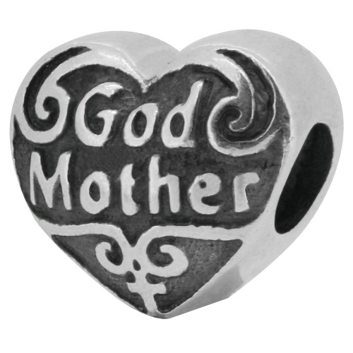 Zable bead charm Godmother, fits Pandora, compatible with Pandora