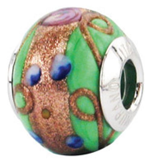 ZABLE Murano Glass Bead Charm BZ-1579 (Retired)