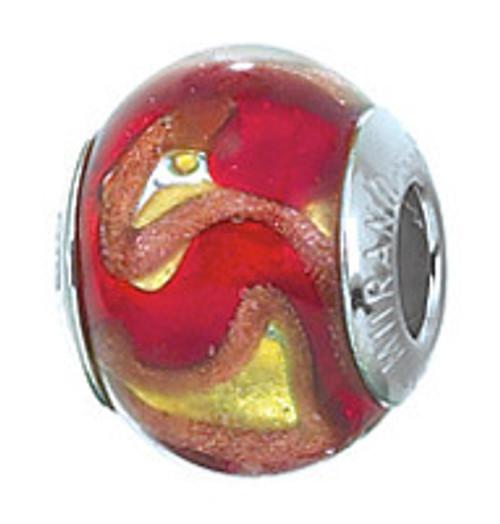 ZABLE Murano Glass Bead Charm BZ-2810 (Retired)