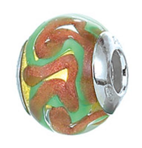 ZABLE Murano Glass Bead Charm BZ-2807 (Retired)