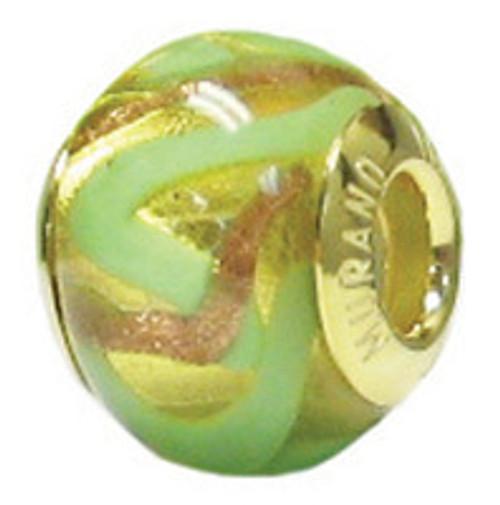 ZABLE Murano Glass Bead Charm BZ-3534 (Retired)