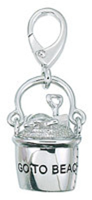 ZABLE Beach Pail and Shovel Charms LC-173