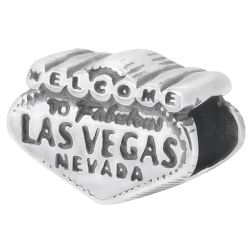 Zable bead charm Las Vegas Sign, fits Pandora, compatible with Pandora