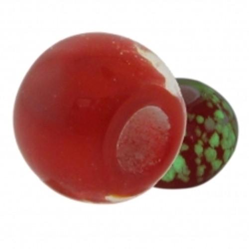 BIAGI KIDZ Red Glow in the Dark Glass Bead Charm BGG05R