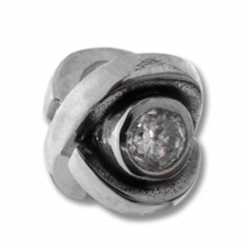 BIAGI April Eye CZ Birthstone Bead Charm BSCZ10-04