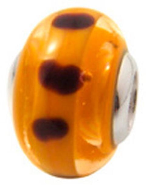 ZABLE Murano Glass Bead Charm BZ-820 (Retired)