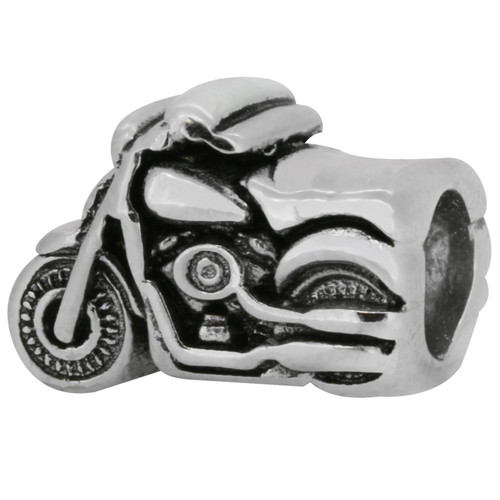 ZABLE Motorcycle Bead Charm BZ-1901, fits Pandora, compatible with Pandora