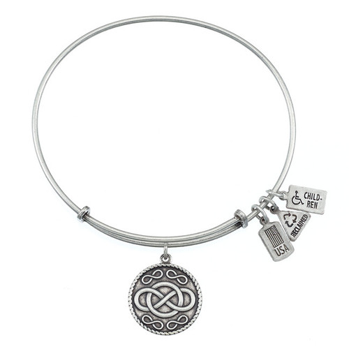Wind and Fire Infinity Charm with Bangle WF-222