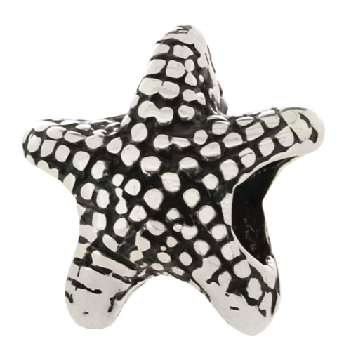 ZABLE Starfish Bead Charm BZ-351 fits Pandora