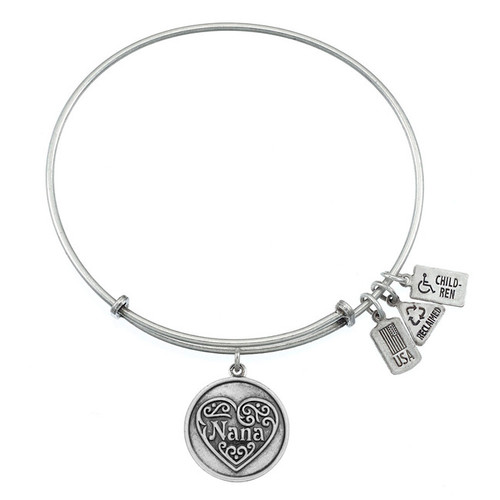 Wind and Fire Nana with Heart Charm with Bangle WF-290