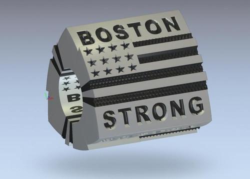 ZABLE Boston Strong Bead Charm BZ-2287