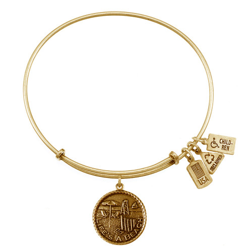 Wind and Fire Life's A Beach Charm with Bangle WF-366 (retired)
