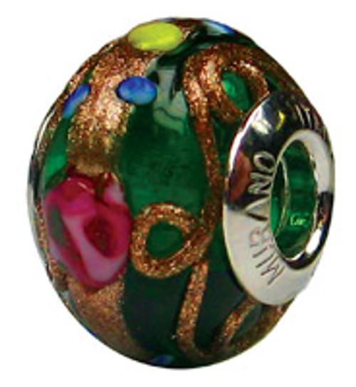ZABLE Murano Glass Bead Charm BZ-1575