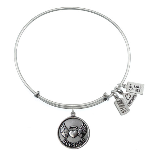 Wind and Fire Blessed Charm with Bangle WF-330
