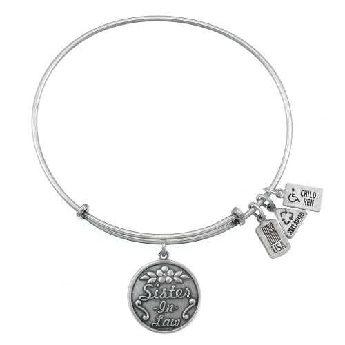 Wind and Fire Sister-in-Law Charm with Bangle WF-375 (retired)