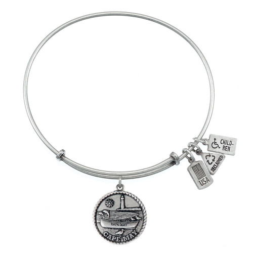 Wind and Fire Cape May Charm with Bangle WF-474
