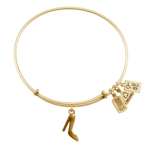 Wind and Fire 3D High Heels Charm with Bangle WF-542