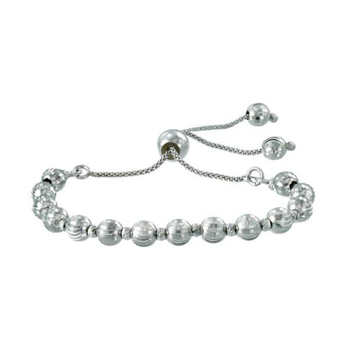 Franco Stellari™ of Italy Sterling Silver Bolo Bracelet SS3620